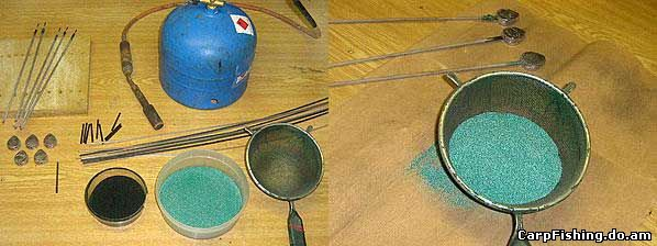 Как сделать рыболовные грузила своими руками Отливка грузила